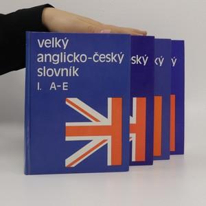 náhled knihy - Velký anglicko-český slovník (komplet I. - IV.)