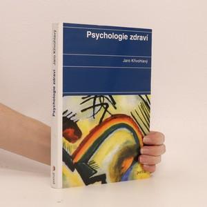 náhled knihy - Psychologie zdraví