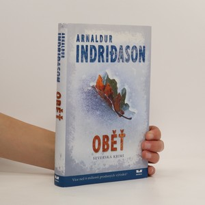 náhled knihy - Oběť. Islandský detektivní román