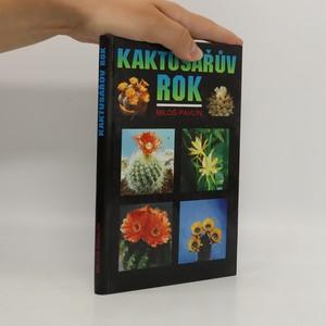 náhled knihy - Kaktusářův rok