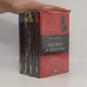 náhled knihy - Sherlock Holmes (vier Romane) - Eine Studie in Scharlachrot - Der Hund der Baskervilles - Das Zeichen der Vier - Das Tal der Ang (4 díly)