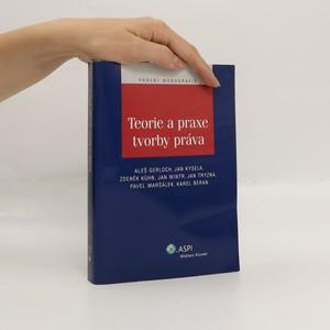 náhled knihy - Teorie a praxe tvorby práva