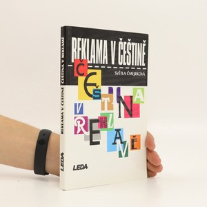 náhled knihy - Reklama v češtině, čeština v reklamě