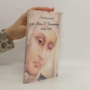 náhled knihy - Kterak poznávala ct. Anna Kateřina Emmerichová ostatky svatých