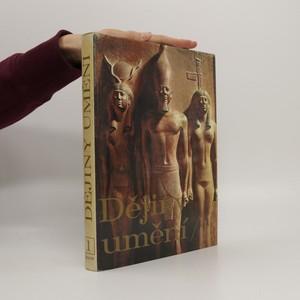 náhled knihy - Dějiny umění. 1. díl.