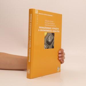 náhled knihy - Manažerské výpočty a ekonomická analýza
