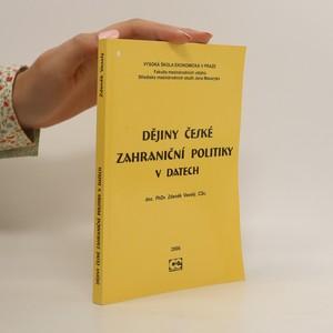 náhled knihy - Dějiny české zahraniční politiky v datech