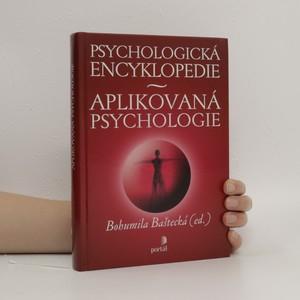 náhled knihy - Psychologická encyklopedie. Aplikovaná psychologie
