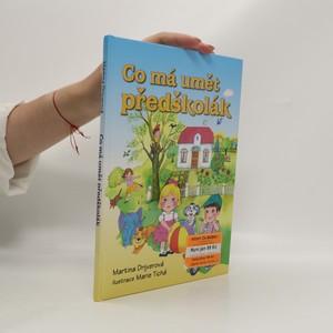 náhled knihy - Co má umět předškolák