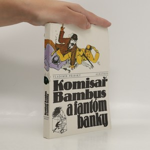 náhled knihy - Komisař Bambus a fantóm banky