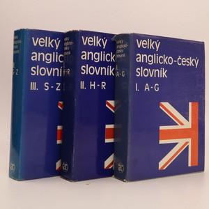 náhled knihy - Velký anglický slovník I. - III. (A - Z)