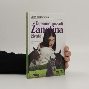 náhled knihy - Tajemné pozadí Žanetina života : dívčí román