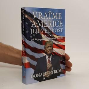 náhled knihy - Vraťme Americe její velikost