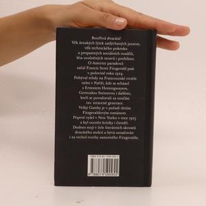 antikvární kniha Velký Gatsby, 2012