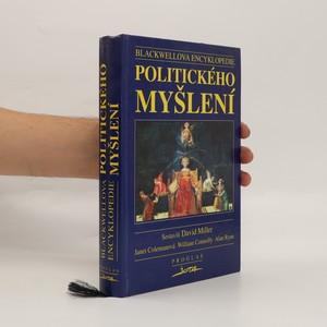 náhled knihy - Blackwellova encyklopedie politického myšlení