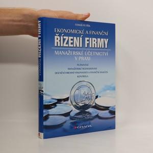 náhled knihy - Ekonomické a finanční řízení firmy : manažerské účetnictví v praxi