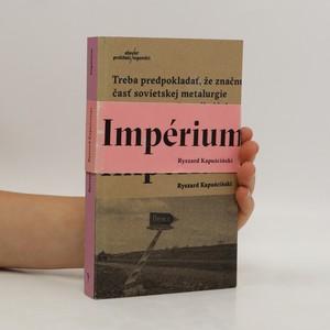 náhled knihy - Impérium