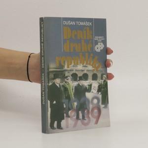 náhled knihy - Deník druhé republiky