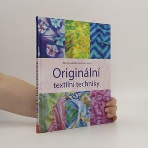 náhled knihy - Originální textilní techniky