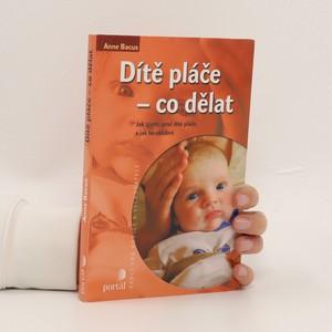 náhled knihy - Dítě pláče - co dělat