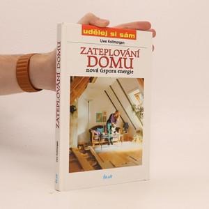 náhled knihy - Zateplování domu : nová úspora energie