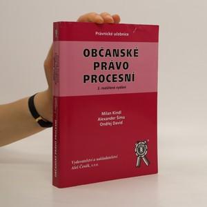 náhled knihy - Občanské právo procesní