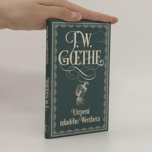 náhled knihy - Utrpení mladého Werthera