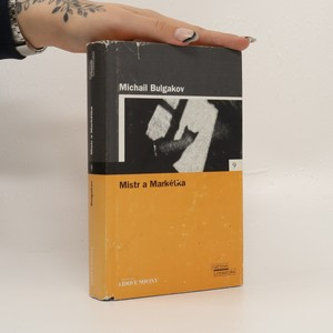 náhled knihy - Mistr a Markétka