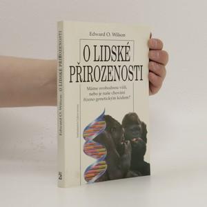 náhled knihy - O lidské přirozenosti