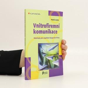 náhled knihy - Vnitrofiremní komunikace : nástroje pro úspěšné fungování fimy