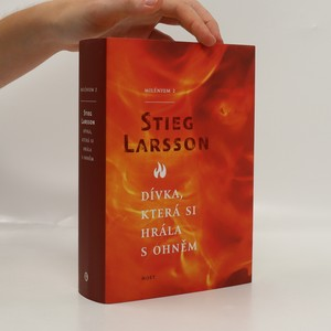 náhled knihy - Dívka, která si hrála s ohněm. Milénium 2