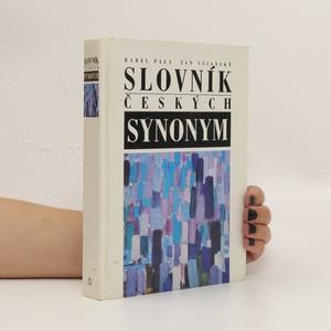 náhled knihy - Slovník českých synonym