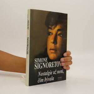 náhled knihy - Nostalgie už není, čím bývala