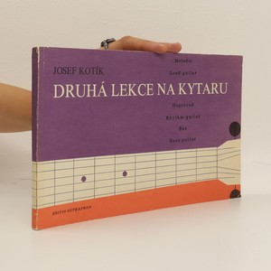 náhled knihy - Druhá lekce na kytaru : melodie - doprovod - bas