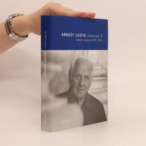 náhled knihy - Interview II - Vybrané rozhovory 1979-2003