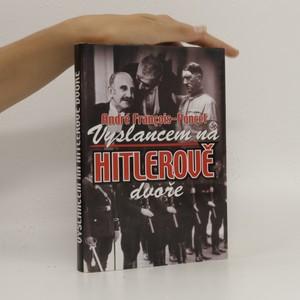 náhled knihy - Vyslancem na Hitlerově dvoře
