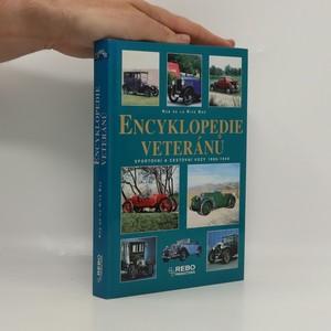 náhled knihy - Encyklopedie veteránů : sportovní a cestovní vozy 1886-1940