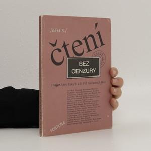 náhled knihy - Čtení bez cenzury 3