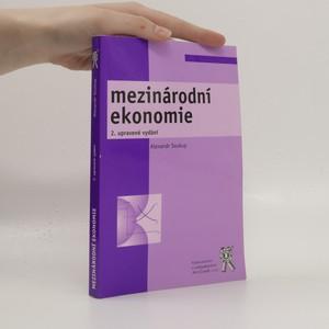 náhled knihy - Mezinárodní ekonomie
