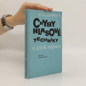 náhled knihy - Chyby hlasové techniky a jejich náprava - Hlasový poradce v otázkách a odpovědích