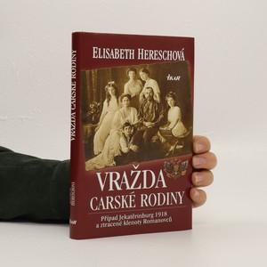 náhled knihy - Vražda carské rodiny