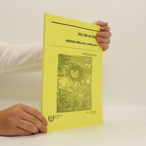 náhled knihy - SQL MS ACCESS. Řešené příklady a příklady