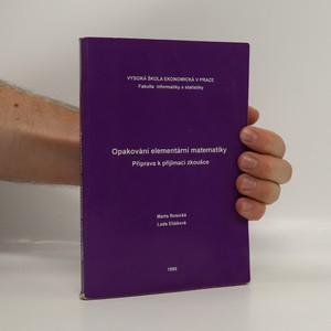 náhled knihy - Opakování elementární matematiky : příprava k přijímací zkoušce