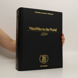 náhled knihy - Who´s who in the world 2004