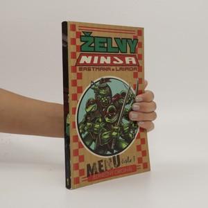 náhled knihy - Želvy Ninja. Menu číslo 1