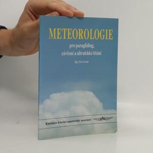 náhled knihy - Meterologie pro paragliding, závěsné a ultralehké létání
