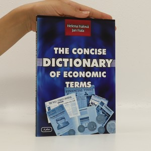 náhled knihy - The Concise dictionary of economic terms