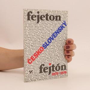 náhled knihy - Československý fejeton/fejtón 1975-1976