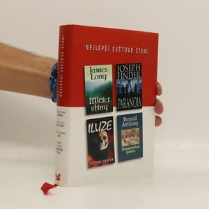 náhled knihy - Mlčící stíny, Paranoia, Iluze, Nesmrtelné pouto