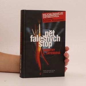náhled knihy - Pět falešných stop